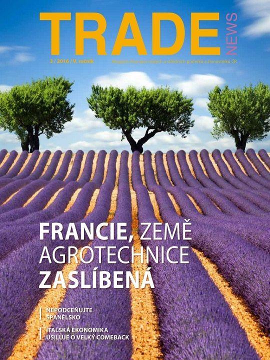 Vychází nové číslo našeho časopisu TRADE NEWS, tentokráte o Francii